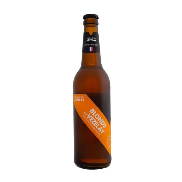 Photo Bière blonde 4,6° bio Bière de Vezelay