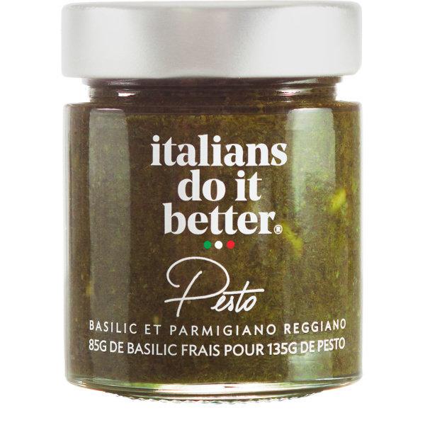 Photo Pesto Italians do it better