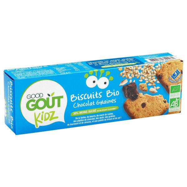 Photo Biscuits chocolat bio Good Goût