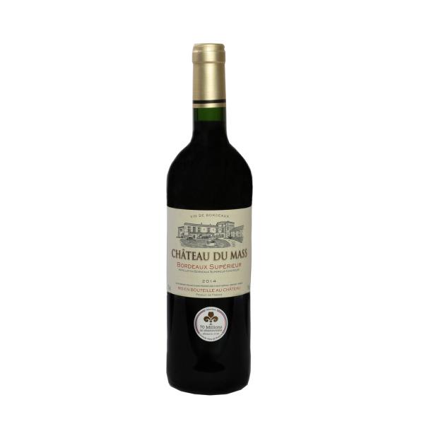 Photo Vin bordeaux rouge supérieur NoBrand