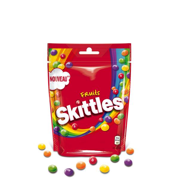 Photo Bonbons aromatisés aux fruits Skittles
