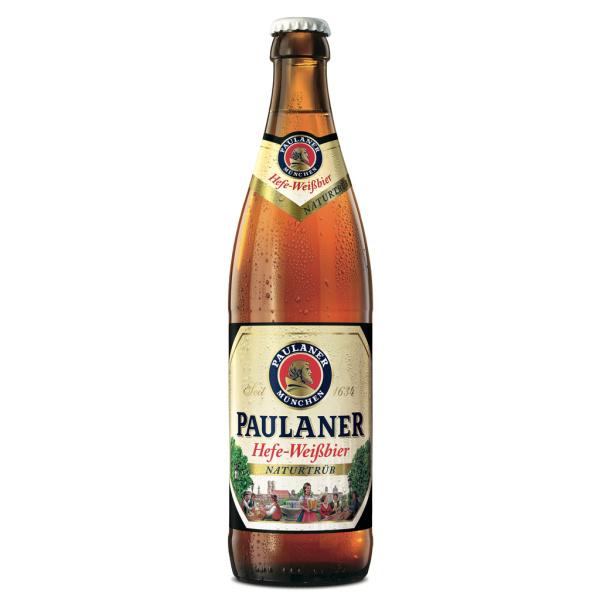 Photo Bière hefe-weißbier naturtrüb Paulaner