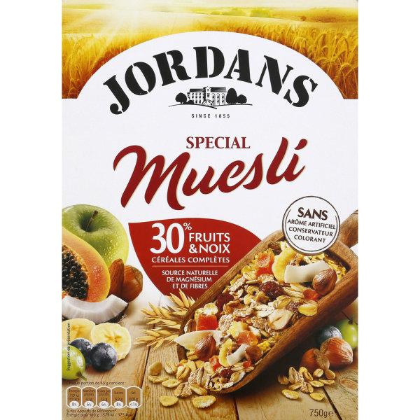 Photo Special muesli Jordans