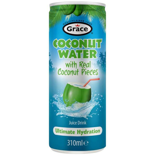 Photo Eau de coco pulpe Grace