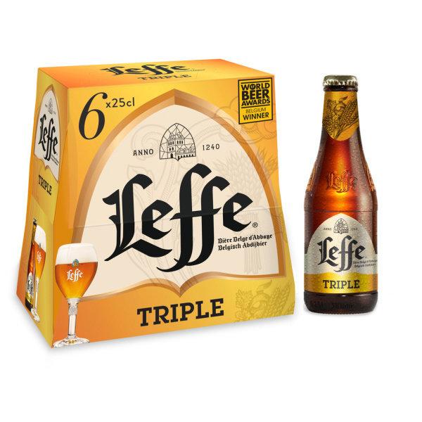 Photo Bière triple Leffe