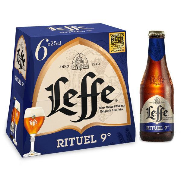 Photo Bière 9° Leffe