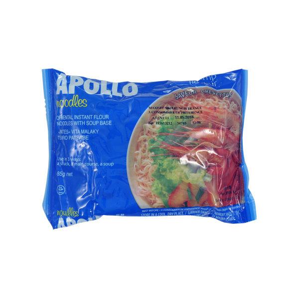 Photo Nouilles instantanées crevettes APOLLO