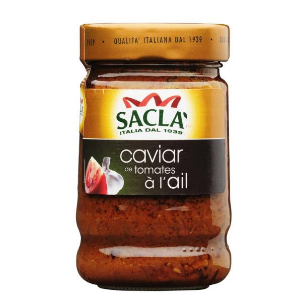 Photo Caviar de tomates à l'ail Sacla