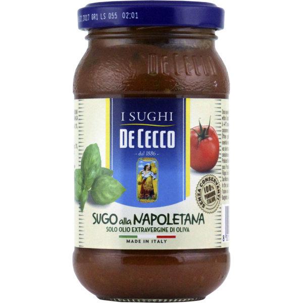 Photo Sauce tomate au basilic De Cecco