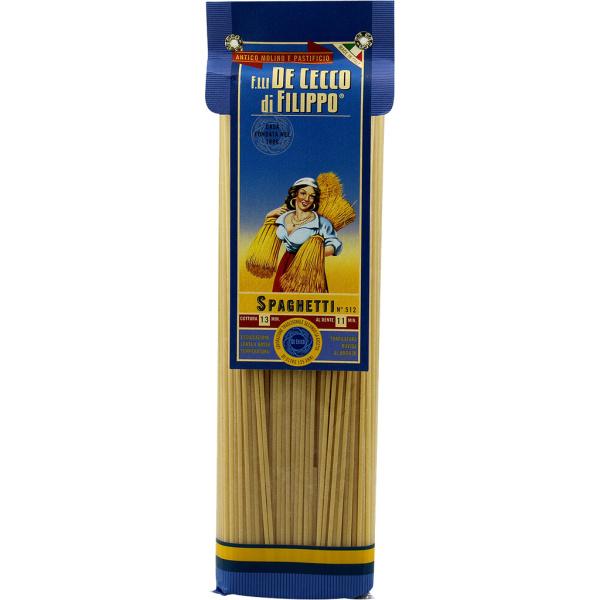 Photo Spaghetti gourmet n°512 De Cecco