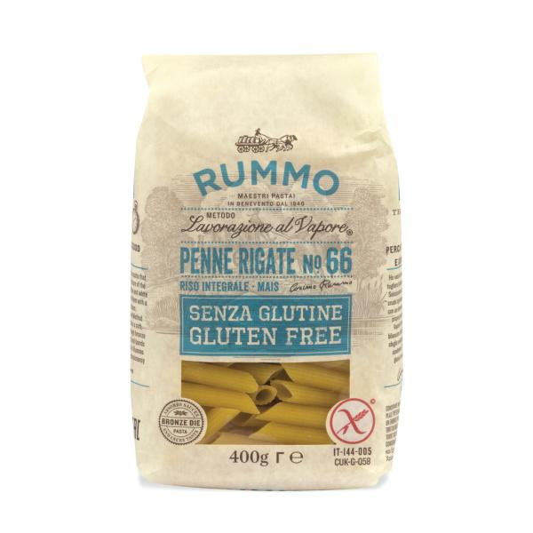 Photo Penne rigate sans gluten n° 66 RUMMO