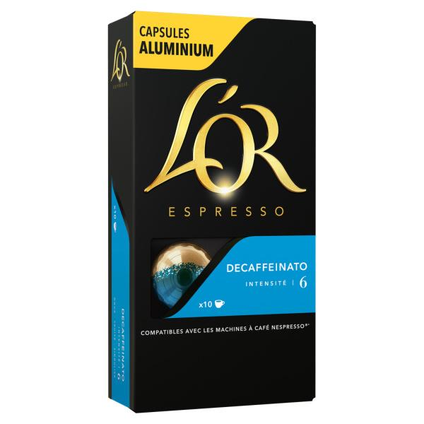 Photo Capsules de café décaféiné L'Or Espresso
