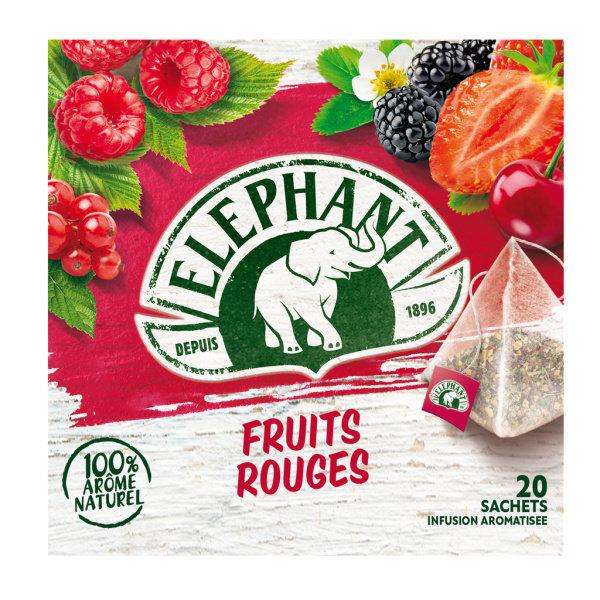 Photo Infusion fruits rouges Elephant