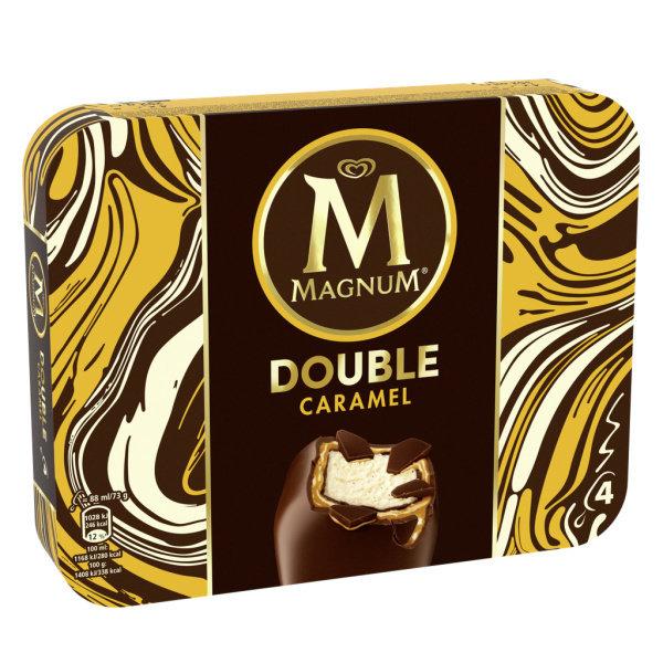 Photo Bâtonnets de glace double caramel Magnum