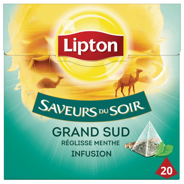Photo Infusion grand sud pyramide Lipton