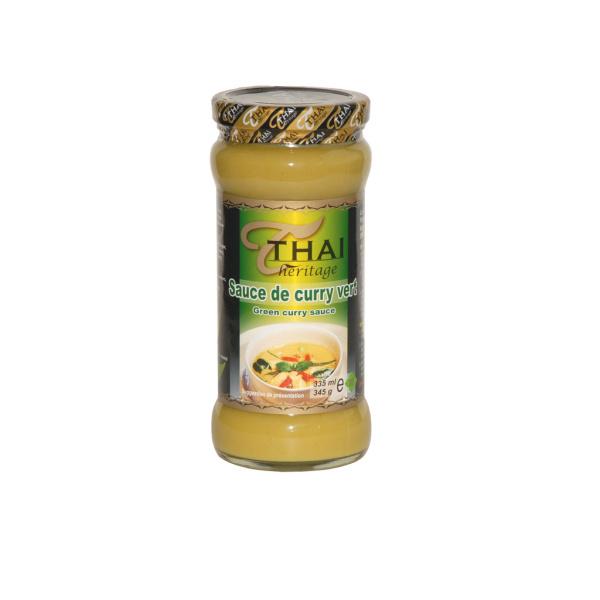 Photo Sauce curry vert thaï Thaï Héritage