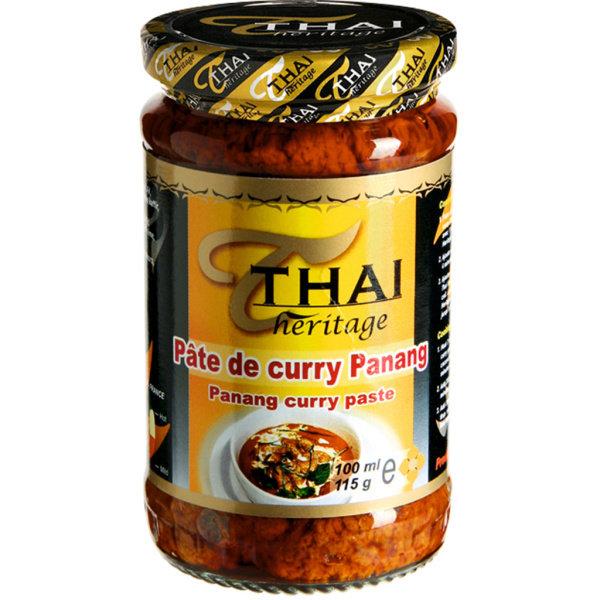 Photo Pâte de curry panang Thaï Héritage