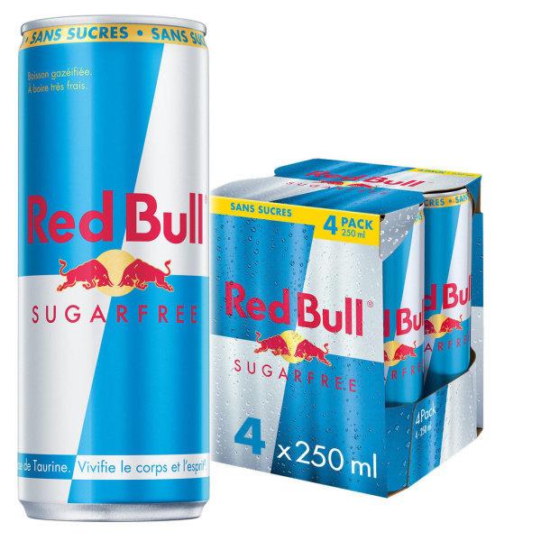 Photo Red bull sans sucres Red Bull